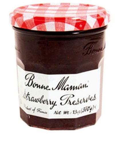 (Bonne Maman Preserve, Strawberry, 13 Ounce (Pack of 4))