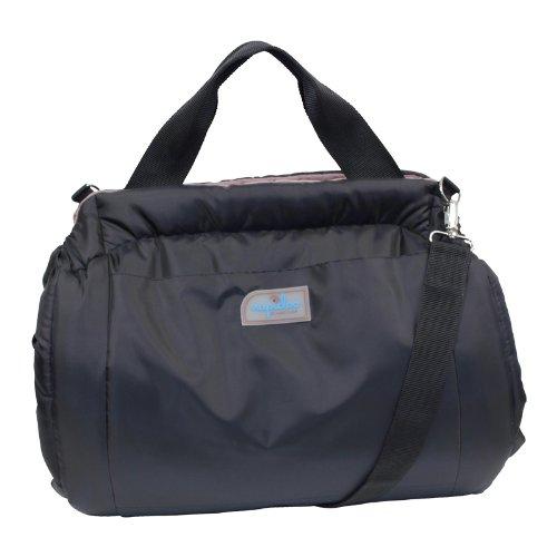 Napidoo rectangular Bag and Dog Basket (Taupe, Plush, X-Small, approx. 14.6  x 9.8  x 9.4 )