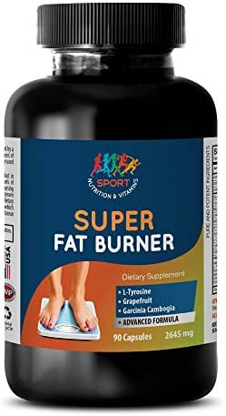 Weight Loss Supplements - Super Fat Burner - Fat USA - 1 Bottle (90 Capsules)