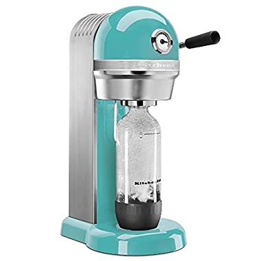 KitchenAid KSS1121AQ Sparkling Beverage Maker, Aqua Sky