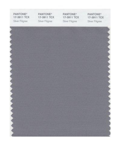 Pantone 17-3911 TCX Smart Color Swatch Card, Silver - Pantone Silver Color