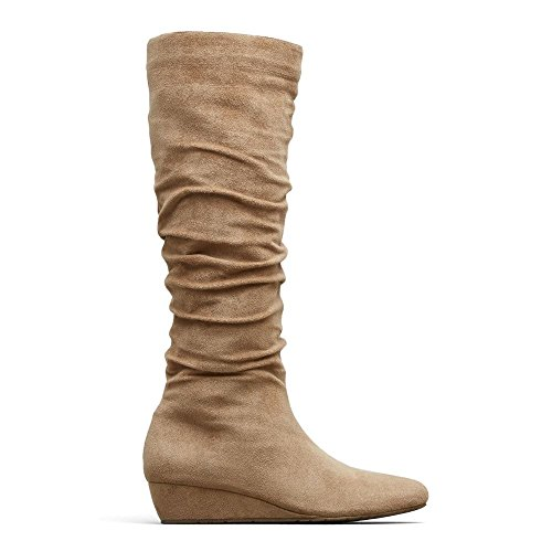Reaction Kenneth Cole Fire Drill Stack Boot - Womens Light Taup tQnzGEmv