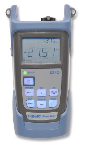 Fpm-602-Foa-54 Exfo Optical Power Meter W/ Data Storage Sc by EXFO