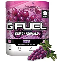 Gamma Enterprises G Fuel Nutrition Supplement, Grape, 40 servings, 280 g