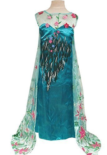 Frozen Fever Inspired Elsa Costume (4-5) by Samgami