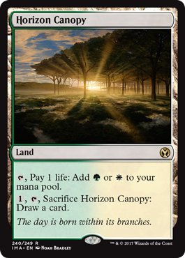 Horizon Canopy - Foil - Iconic Masters by Wizards of the Coast