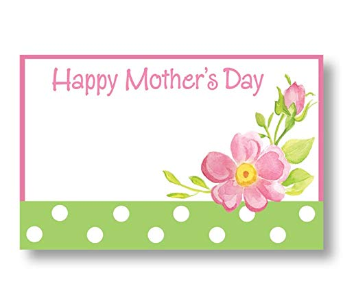 burton+BURTON Roses for Mom, Happy Mother's Day Enclosure Cards, Pack of 50
