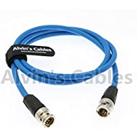Alvins Cables 12G HD SDI Video Coaxial Cable Neutrik BNC Male to Male 4K Video Camera