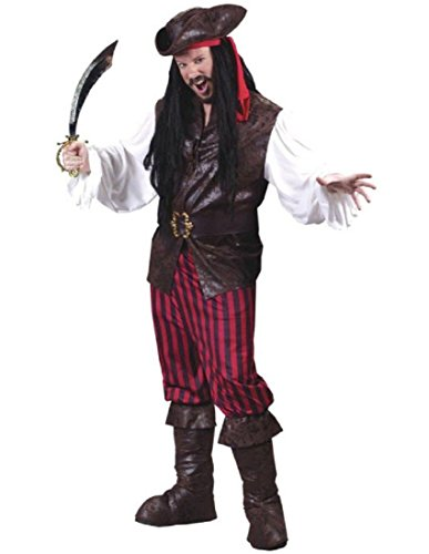 High Seas Male Buccaneer Adult Costume Item - Funworld
