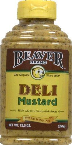 Beaver Mustard Sqz Deli
