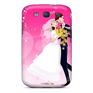 Durable Defender Case For Galaxy S3 Tpu Cover(valentine Day Love Dance)