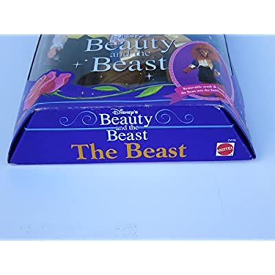 Disney Beauty and The Beast BEAST Doll - Disney Classics (1991): Toys & Games