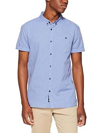 Mossimo Men's Tulipwood SS Shirt, Blue(Blue), XS(X-Small)