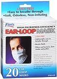 Flents Ear-Loop Mask - 20 ea., Pack of 4