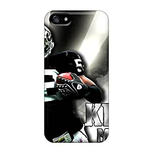 Durable Hard Cell-phone Case For Iphone 5/5s With Customized Nice Oakland Raiders Pictures CharlesPoirier