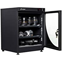 68L electronic automatic digital control dry box cabinet storage for DSLR camera lens
