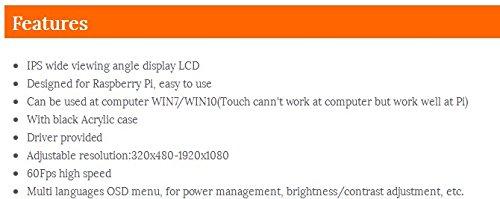 Amazon com: Raspberry Pi 3 5 inch HDMI LCD touchscreen 3 5