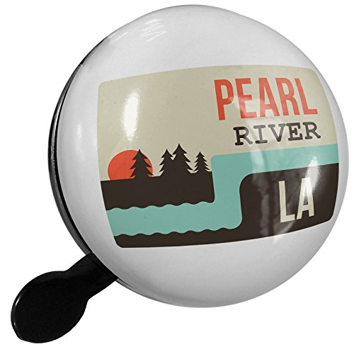 River Road Pearl (Small Bike Bell USA Rivers Pearl River - Louisiana - NEONBLOND)