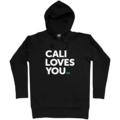 Smash Vintage Men's California Loves You Hoodie - Black, XXX-Large