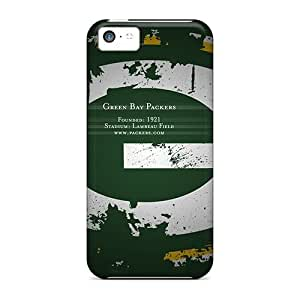 RECjPYx1370ctRlj Tpu Phone Case With Fashionable Look For Iphone 5c - Green Bay Packers