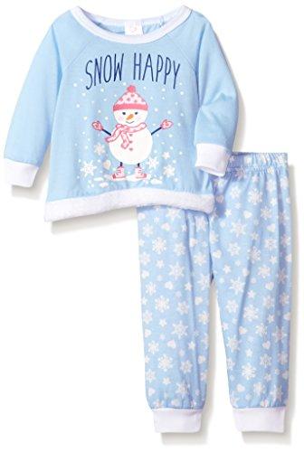 Youngland Baby Girls Faux Fur Holiday Sleep Set