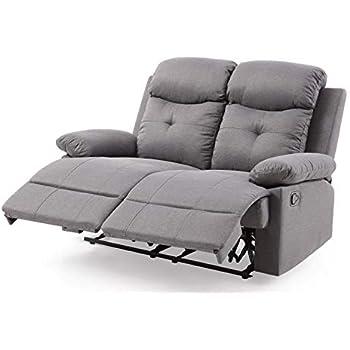 Amazon.com: Silla reclinable clásica y tradicional de tela ...