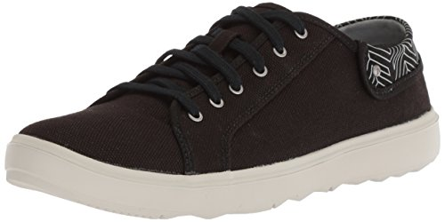 City Zapatillas Mujer Para Town Negro Lace Black Around black Merrell Canvas EAXZpq