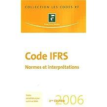 CODE IFRS 2006 2ÈME ÉDITION