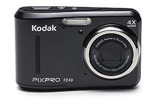 "Kodak PIXPRO Friendly Zoom FZ43-BK 16MP Digital Camera with 4X Optical Zoom and 2.7"" LCD Screen (Black) (B07J2JDKK3) | Amazon price tracker / tracking, Amazon price history charts, Amazon price watches, Amazon price drop alerts"