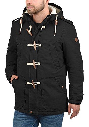 Black para Forster 9000 Hombre Solid Chaqueta UfExqI