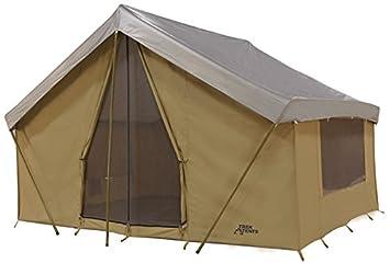 Trek Tents 245C Cavas Cabin 9u0027 x 12u0027 Heavy Duty Cotton C&ing 7 Person  sc 1 st  Amazon.com & Amazon.com : Trek Tents 245C Cavas Cabin 9u0027 x 12u0027 Heavy Duty ...