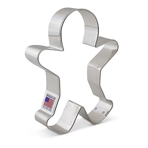 Ann Clark Cookie Cutters Happy Gingerbread Man Cookie Cutter, 5