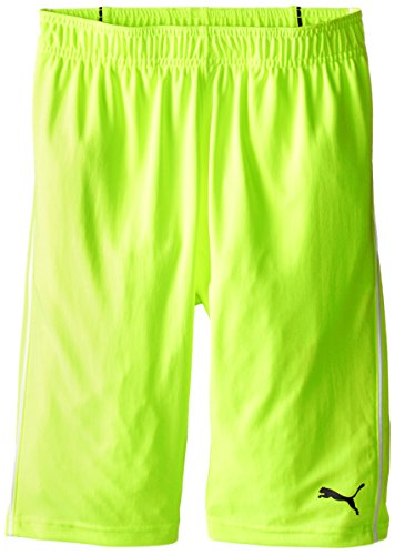 PUMA Big Boys' Pure Core Short, Acid Yellow, - Puma Yellow