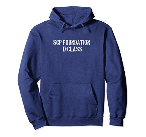 Unisex SCP Foundation Hoodie D Class 2XL ()