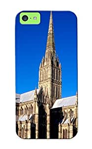 Charlesvenegas Anti-scratch And Shatterproof Salisbury Cathedral, Wiltshire, England Phone Case For Iphone 5c/ High Quality Tpu Case