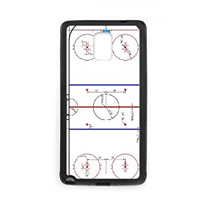 Gorgeous Ice Hockey Rink Samsung Galaxy Note 4 Cell Phone Case Black Cool Beautiful Attractive Nostalgic tuhang1813435