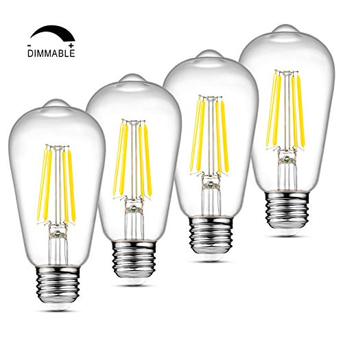 Where to find edison bulb led 4000k dimmable?