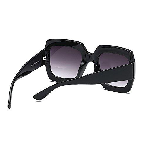 Sol Marco Gafas Té Black Europa Mujer Verde Negro América Green Imprimir de Moda y Plaza Ocean Color Transparente Trend Gafas 1EqX1