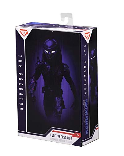"NECA - Predator (2018) - 7"" Scale Action Figure – Ultimate Fugitive Predator"