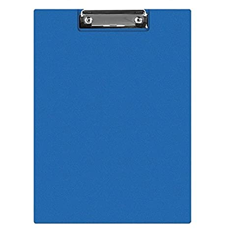 Connect Clipboard Double A4 Blue KF01301