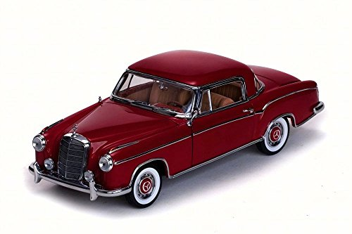 1958 Mercedes-Benz 220 SE Coupe, Red - Sun Star 3563R - 1/18 Scale Diecast Model Toy Car (Coupe 220)