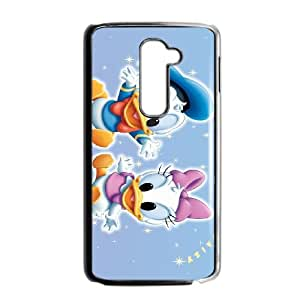 LG G2 Cell Phone Case Black Donald Duck 002 Delicate gift JIS_405010