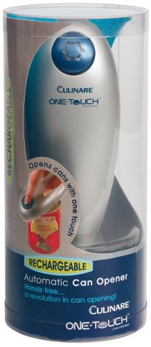 Culinare One Touch Automatic Can Opener Rechargable DKB Household Uk C50900 Can_Openers Tools_Gadgets_Barware