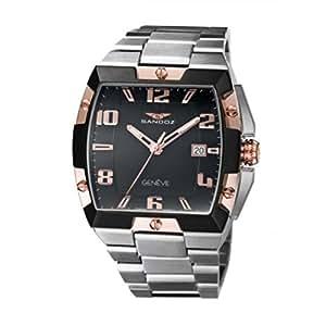 Reloj Sandoz Caractere 81323-95 Hombre Negro