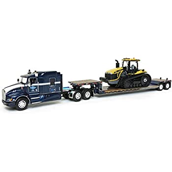 Amazon com: 1/64 Kenworth T660 with LXT40 Lowboy & Challenger MT865C
