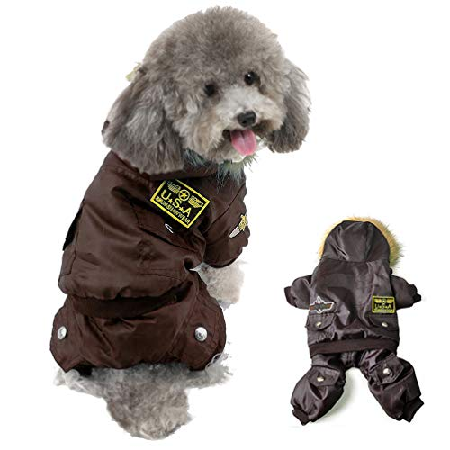 Refial Dog Jacket, Dog Cold Weather Coats, Dog Halloween Costumes Waterproof Rainproof Dog Clothes for Small Medium Large Dogs Halloween Christmas Sweater -