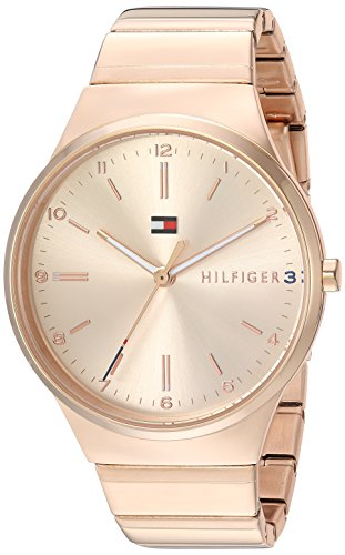 Tommy Hilfiger Women's 'Sophisticated Sport' Quartz and Stainless-Steel Casual Watch, Color Rose Gold-Toned (Model: 1781799)