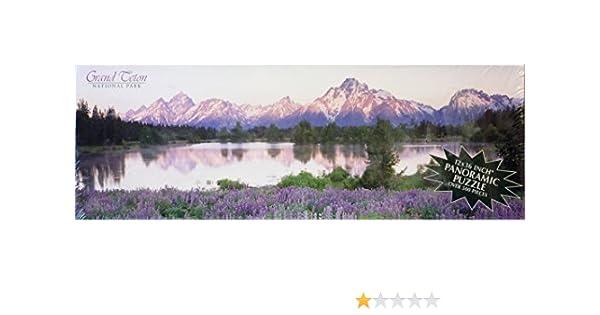Grand Teton National Park Impact Panoramic Jigsaw Puzzle