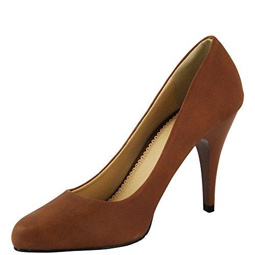 Unbekannt - Zapatos de vestir de Material Sintético para mujer 36