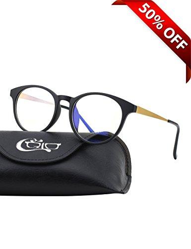 cgid ct28 premium tr90 frame blue light blocking glasses anti glare fatigue blocking headaches. Black Bedroom Furniture Sets. Home Design Ideas